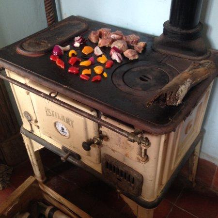 cocina econ mica a le a picture of casa bellavista On cocina economica calefactora