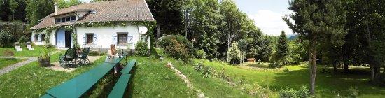 Ban-sur-Meurthe-Clefcy, Frankrijk: Übersicht Außenanlage