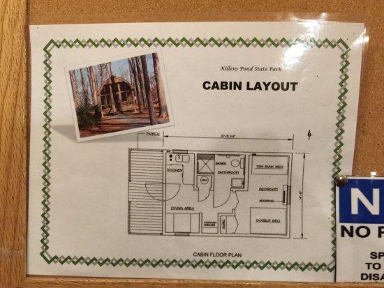 Felton, DE: Cabin Layout