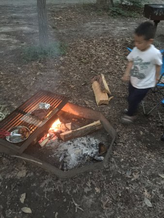 Felton, Делавер: firepit and separate grill