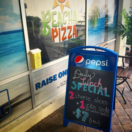 Beacha Pizza Come By Before 2pm Every Day For Our Lunch Special 2