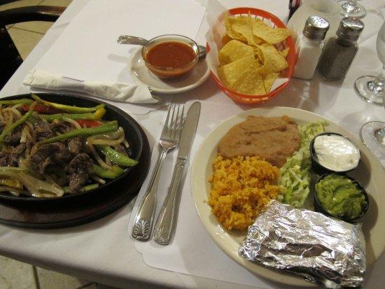 Douglas, AZ: Beef Fajitas