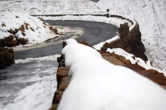 San Roque de Riomiera, España: Vista de la Paella de la carretera.