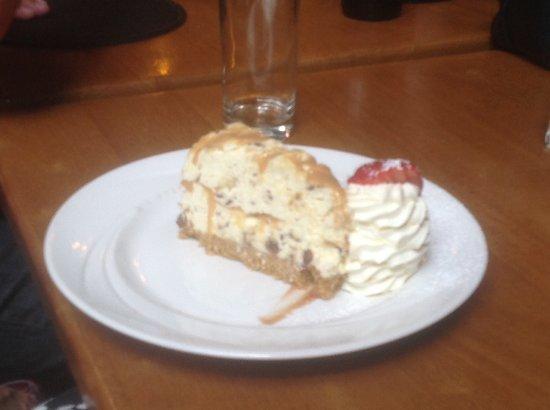 Castlewellan, UK: Malteser cheese cake
