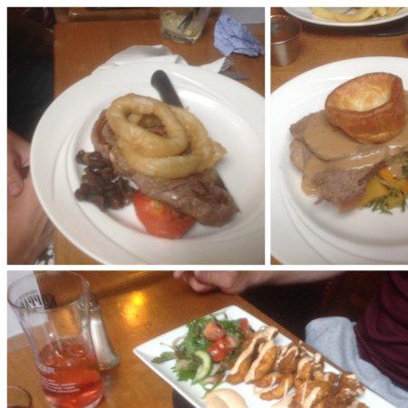 Castlewellan, UK: Main meals