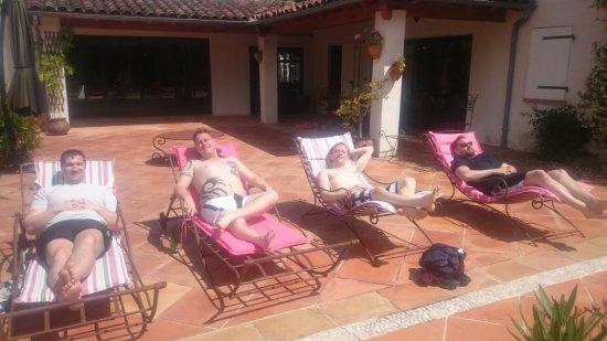 Le Clos d'Arduenna: Photo by the pool