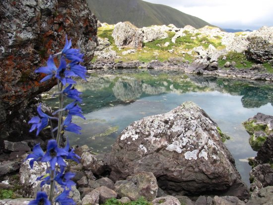 Roshka, จอร์เจีย: Blue lake