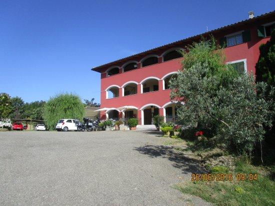 Hotel Terre d'Orcia: vista dell'esterno