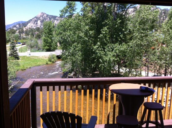 Murphy's River Lodge: Private Balcony
