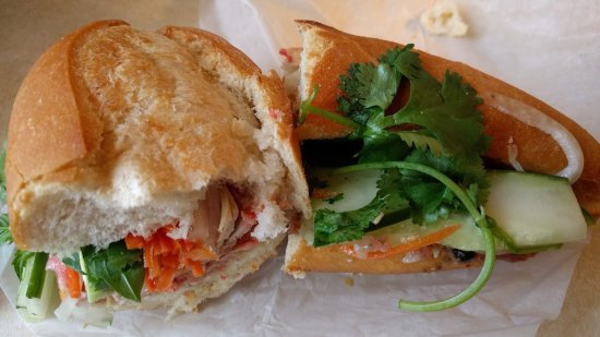 North Kansas City, MO: the bahn mi special with cold cuts and steamed pork