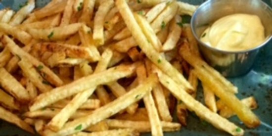 Revel Kitchen and Bar: Truffled fries