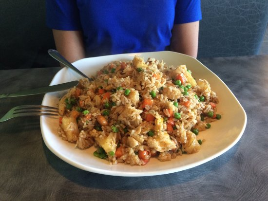 Romeo, MI: Pineapple fried Rice with Chicken
