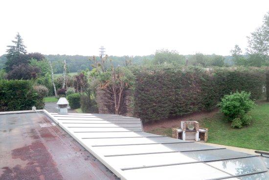 Hôtel Restaurant Séminaires La Foresterie : vue de ma chambre, calme