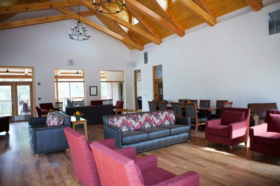 SMU-in-Taos: The Great Hall of the Miller Campus Center