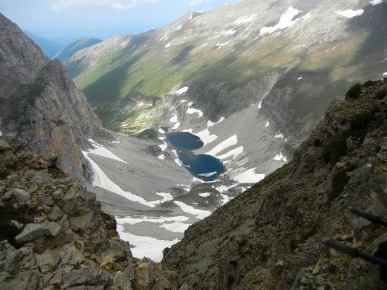 """Castelluccio di Norcia, Italien: Il Lago di Pilato e l'omonima valle visto da """"Cima del Lago"""".  Foto di Giovanni Fusco"""