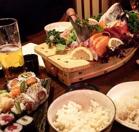 05d7e9fb8894 Sushi Zento Muswell Hill Japanese Restaurant - Picture of Sushi ...