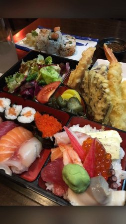 3c8a300f2d83 Sushi Zento Muswell Hill Japanese Restaurant. - Bento Box - Picture ...