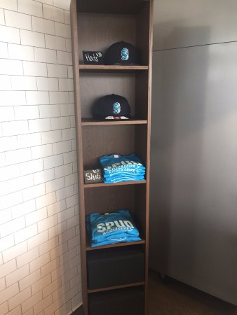 Spud Fish & Chips: hats and t-shirts on sale