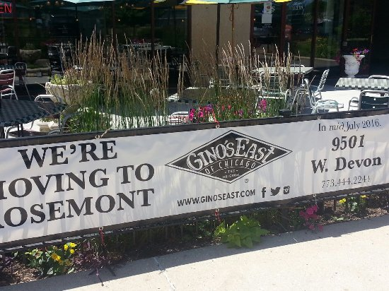 Gino's O'Hare Plaza: Moving in mid-July 2016