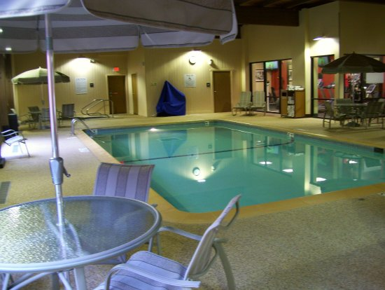 Best Western Plus St Paul North Sview Pool Fitness Area