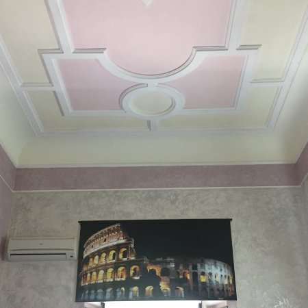 โรงแรมไมโคล์ โรม: Maikol Luxury Guesthouse Reception decorated ceiling