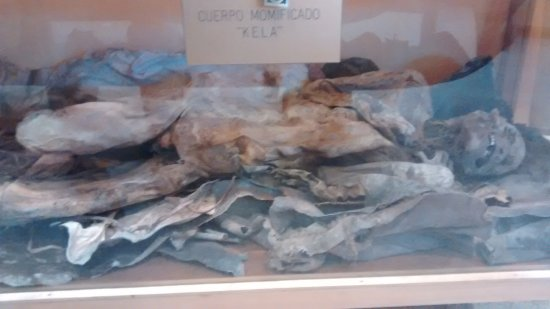 Porvenir, Cile: Momia kela