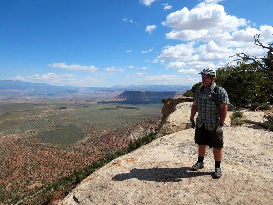 Utah Mountain Biking Adventures: Monte on the mesa