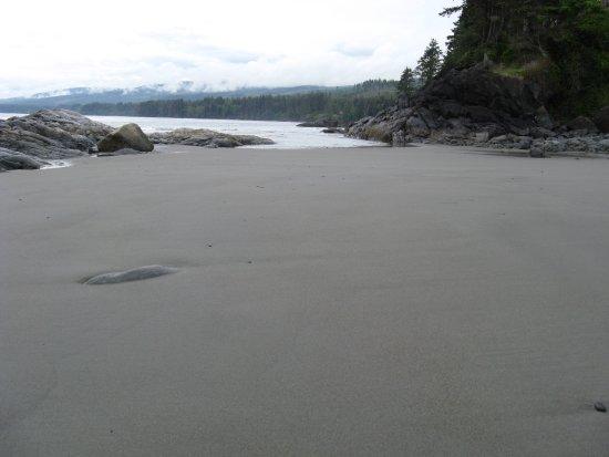 Point-No-Point Resort: Beach at resort