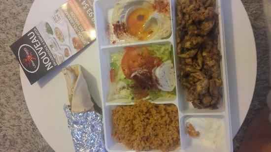 Chawarma poulet emporter 8 80 photo de liban food - Direct cuisine haguenau ...