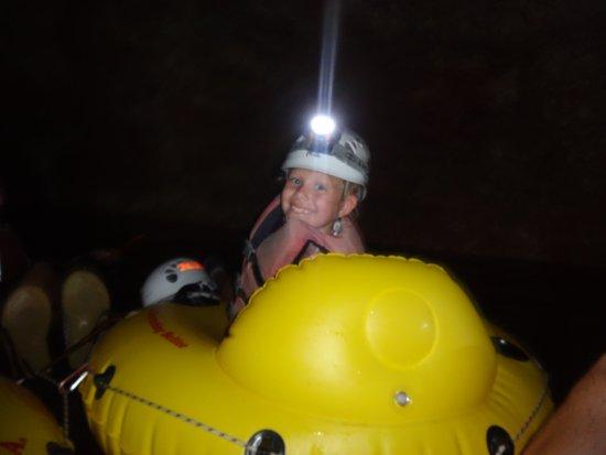 Cave Tubing.Bz Photo