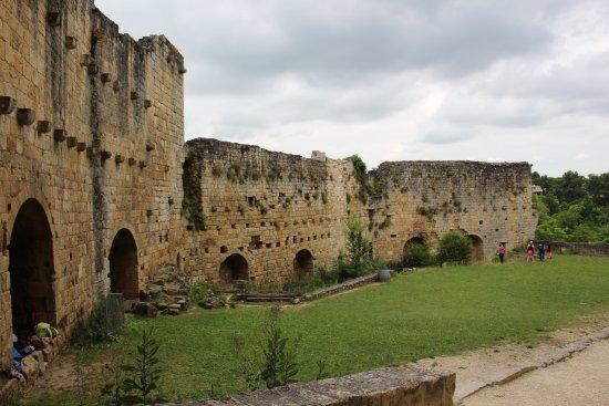 Rauzan, Frankreich: castle