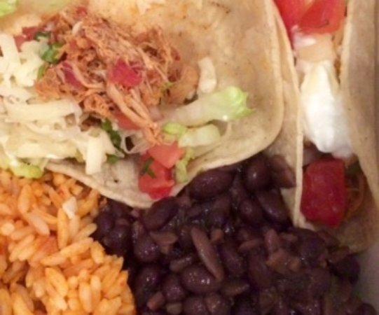 Danville, Californie : Chicken soft tacos