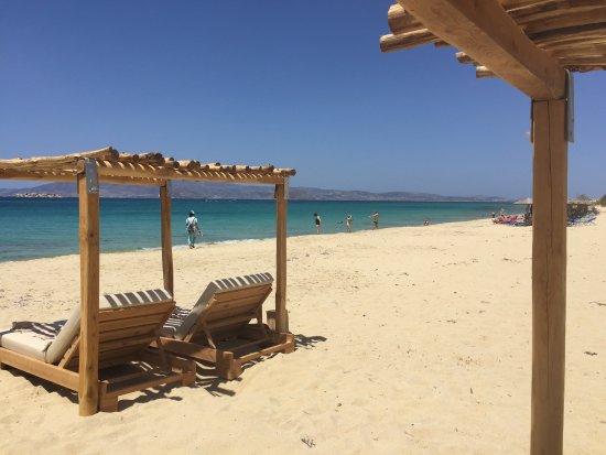 Agios Prokopios, Hellas: Naxian collection Beach. (10 min. Drive in Plaka).
