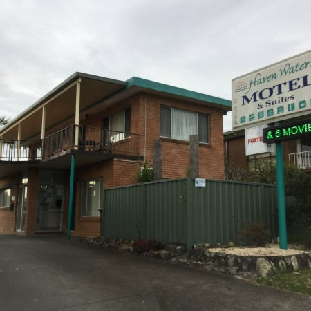 North Haven, Austrália: Entrance of motel