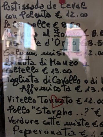Colors of Italy - Guided Tours : Some of the restaurants in Verona serve horse meat!