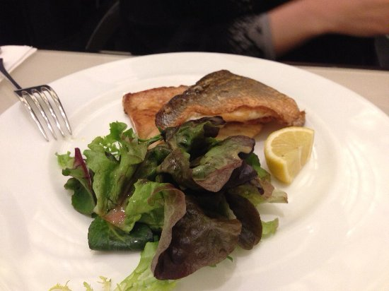 Armani Caffe: Sea Bass
