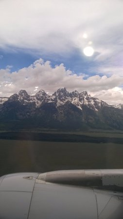 وايت بافالو كلوب: The views around Jackson Hole.