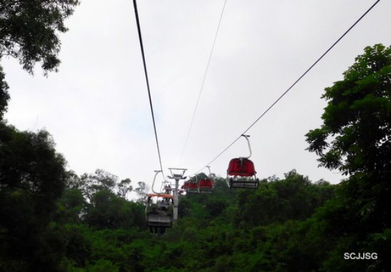 Mt. Shijing Park: Cable car
