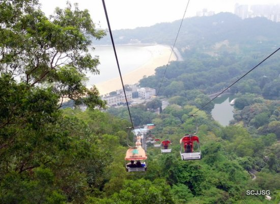 Mt. Shijing Park: The view from Cable Car
