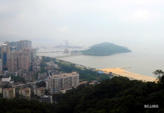 Mt. Shijing Park: The city view