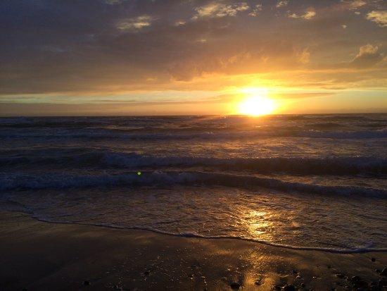 Ruths Hotel: Muligheten til å få se en vakker solnedgang er tilstede.
