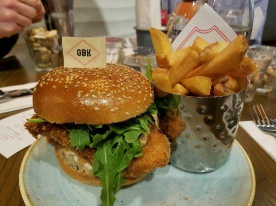 Gourmet Burger Kitchen, London - 5