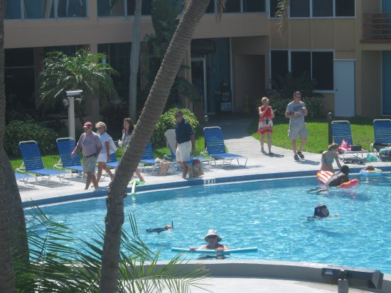 Dolphin Beach Resort: just hanging by the pool