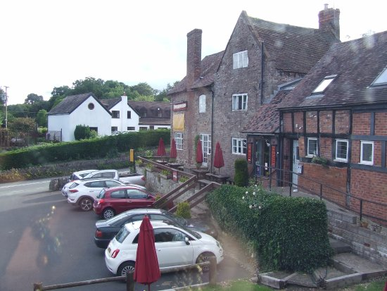 The Crown At Hopton: view from room 8