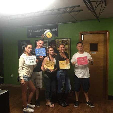 North Olmsted, OH: Come challenge yourselves in the Escape Room!