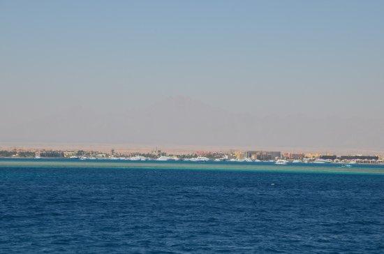 Sharm El Naga: Rejs na wyspę Paradise- wrażenia niezapomniane