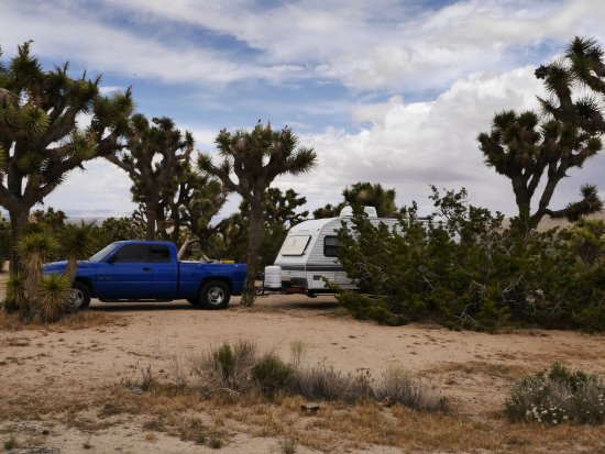 Black Rock Canyon Campground: RV SITE