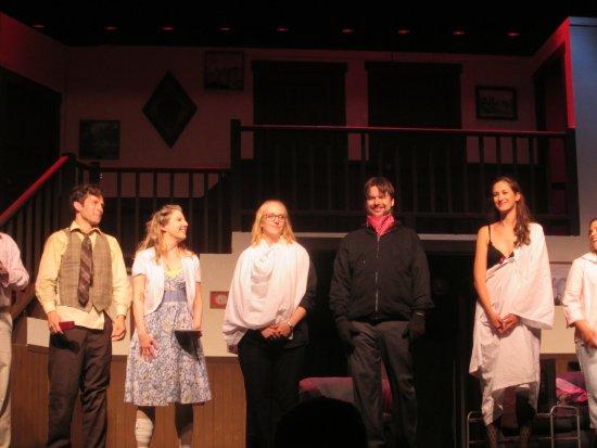 Berwick, ME: The cast of Noises Off.