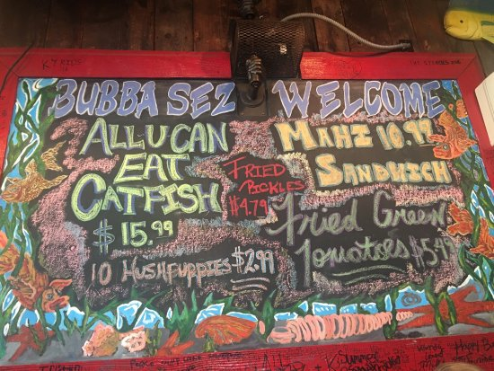 Deeeelicious picture of bubba 39 s fish shack surfside for Bubbas fish shack