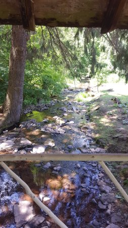Bovina Center, NY: The Brook